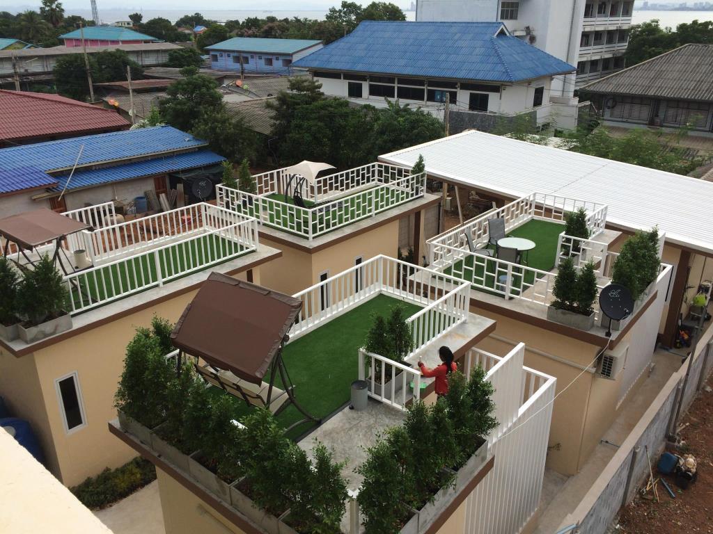 กรีน ซีซั่น เฮาส์ (Green Season House) เกาะล้าน
