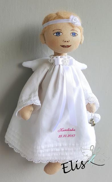 Aniołek na chrzest