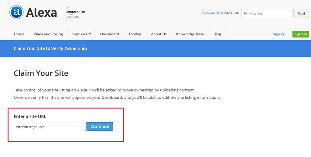 Cara Daftar dan Verifikasi Blog di Alexa Gratis dan Mudah
