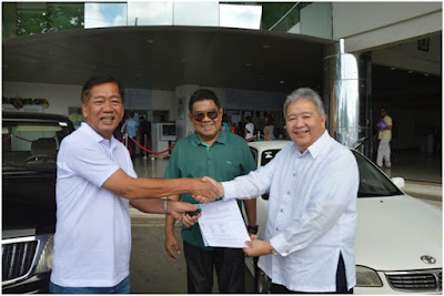 Los Baños municipal government receives two vehicles from IRRI