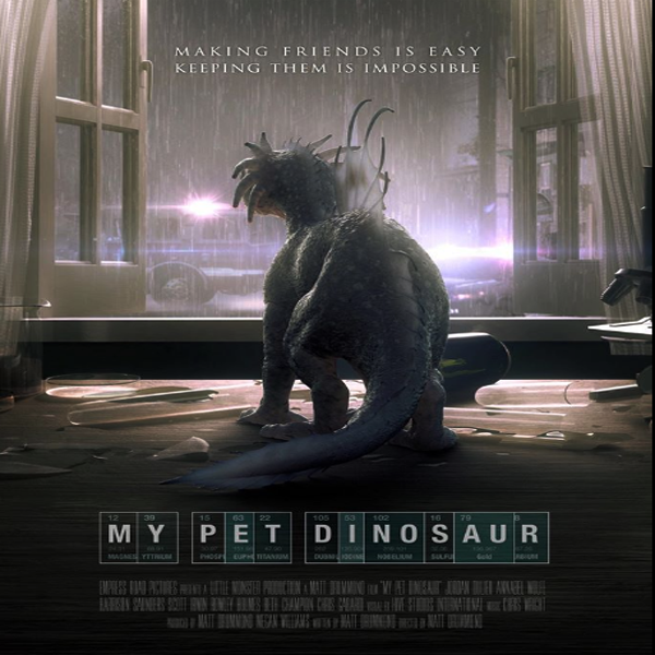 My Pet Dinosaur, My Pet Dinosaur Synopsis, My Pet Dinosaur Trailer, My Pet Dinosaur Review, Poster My Pet Dinosaur