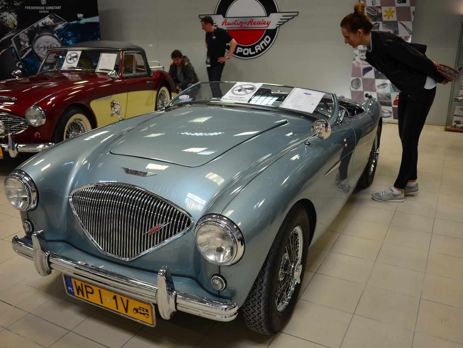 W-wa Jeziorki: Classic car show, Nadarzyn