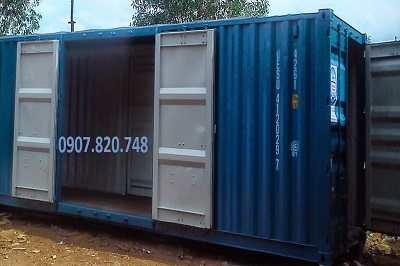 container mở cửa bên hông