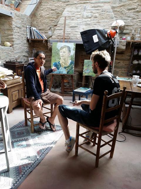 http://www.ouest-france.fr/bretagne/groix-56590/jef-cablog-artiste-peintre-la-nature-au-bout-du-couteau-3711712