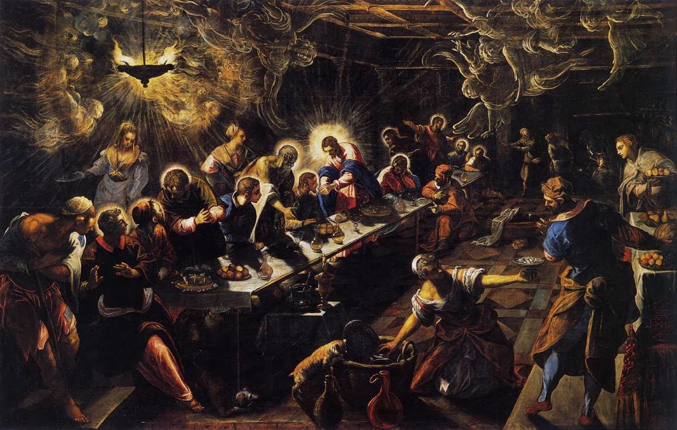 Tintoretto, Last Supper