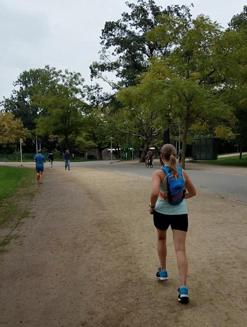 running in Amsterdam - Vondelpark