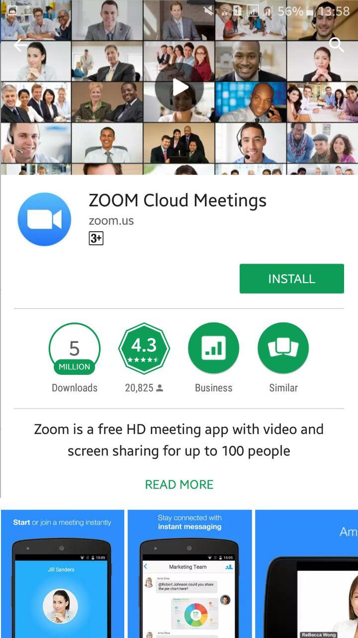 UPERP11T01E - Instal dan Daftar Zoom Cloud Meeting