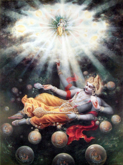 Maha Vishnu, Srimad Bhagavatham Canto 1