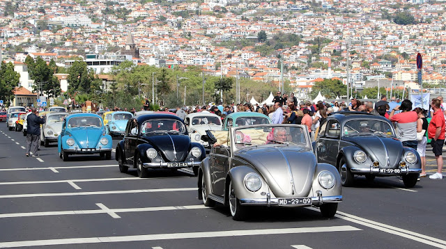 VW in Madeira Auto Parade 2016