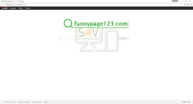 FunnyPage123.com (Hijacker)