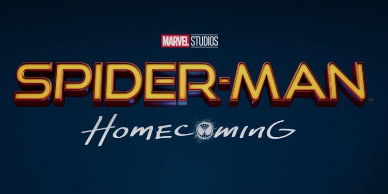 spider-man homecoming logo film