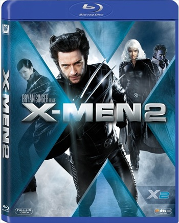 X-Men 2 United 2003 Dual Audio Hindi 480p BRRip 300mb