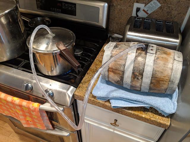 Barrel Aged American Oud Bruin Batch 5 Recipe