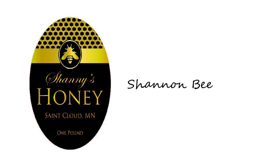 custom honey labels  designs
