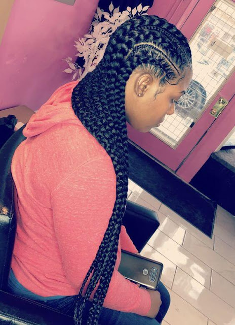 22+ Latest Bohemian Feed In Braids Hairstyles Ponytails To Copy In 2019