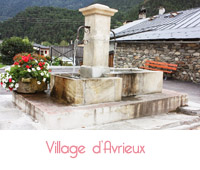 fontaine de village