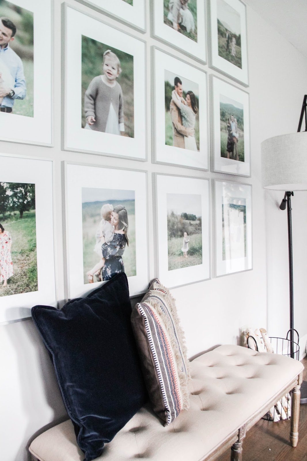 So Kind About My Gallery Wall That I Originally Shared Back In February Have Sense Made Some Changes To The Layout Of Furniture Our Family Room