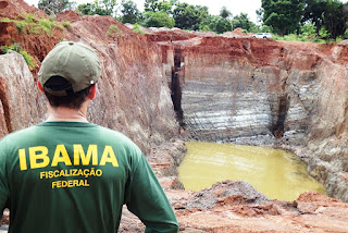 IBAMA -Fiscalização Ambiental
