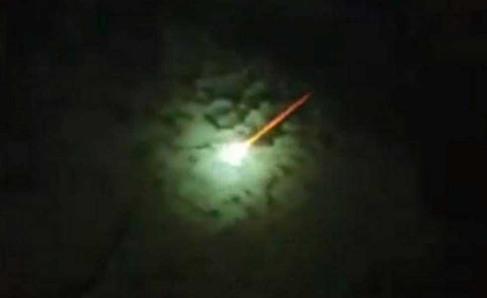 Video: Cayó un meteorito en el El Cerrito Valle del Cauca