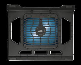 trust base di raffreddamento per laptop ventola 21905