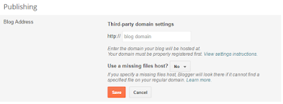 How To Setup Whogohost Custom Domain to Blogger