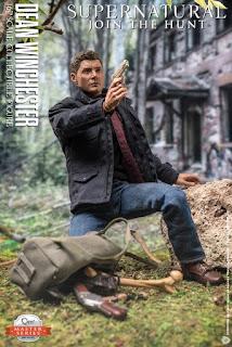 "Nuevas imágenes de 1/6 Dean Winchester de ""Supernatural"" - Quantum Mechanix"