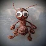 patron gratis hormiga amigurumi | free amigurumi pattern ant