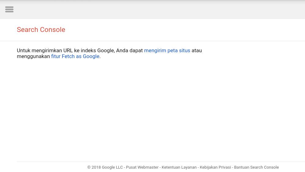 Cara Submit URL Terbaru Di Google Webmaster