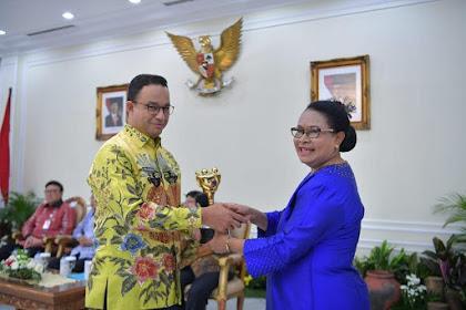 Ucapan Anies Usai Pemprov DKI Raih Penghargaan Anugerah Parahita Ekapraya 2018