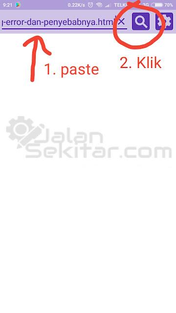 Cara Screenshot Website Satu Halaman Penuh di Android