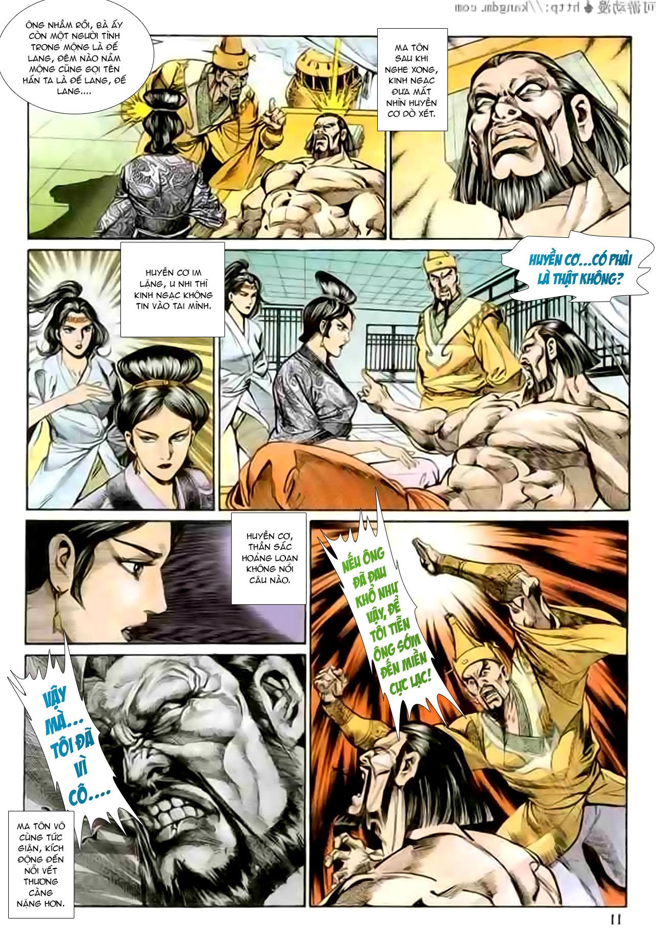 Cơ Phát Khai Chu Bản chapter 127 trang 12