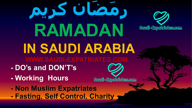 START OF RAMADAN IN SAUDI ARABIA