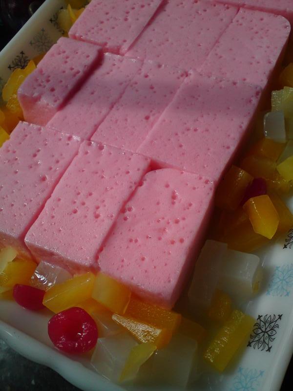 Puding Buih Sponge Pudding