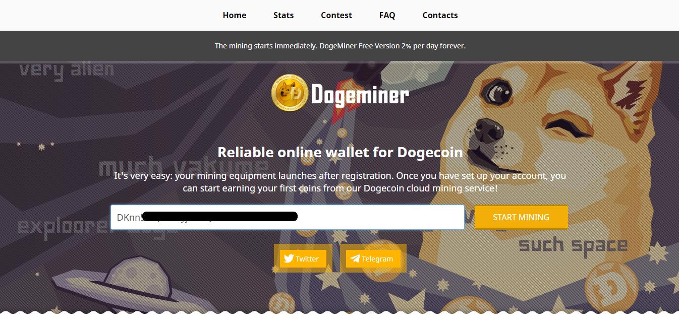 Tutorial Mining Dogecoin Melalui Dogeminer