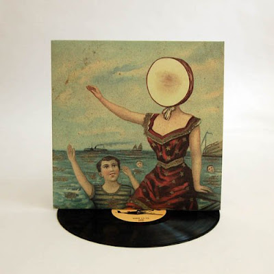 In the Aeroplane Over the Sea vinyl - 25 Christmas Gifts Under $25 for Hippie Bohemian Men {Gift Guide for Hippies/Bohemians}