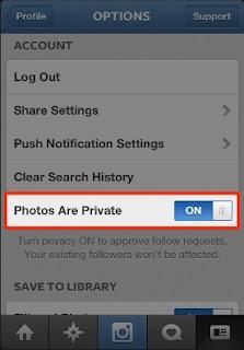 privasi instagram