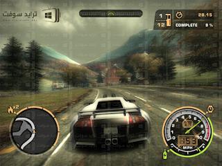 لعبة Need For Speed Most Wanted كاملة للكمبيوتر