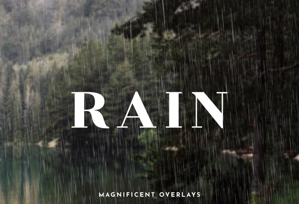 Текстуры дождя