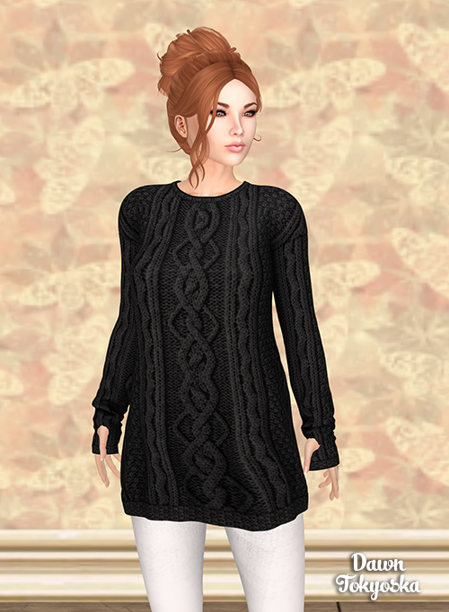 e09ea87645f Another ideal choice for these chilly evenings is the prize from    milky-way called  18-12 Maxi Sweater Black. Find the hidden cat and you  can claim this in ...