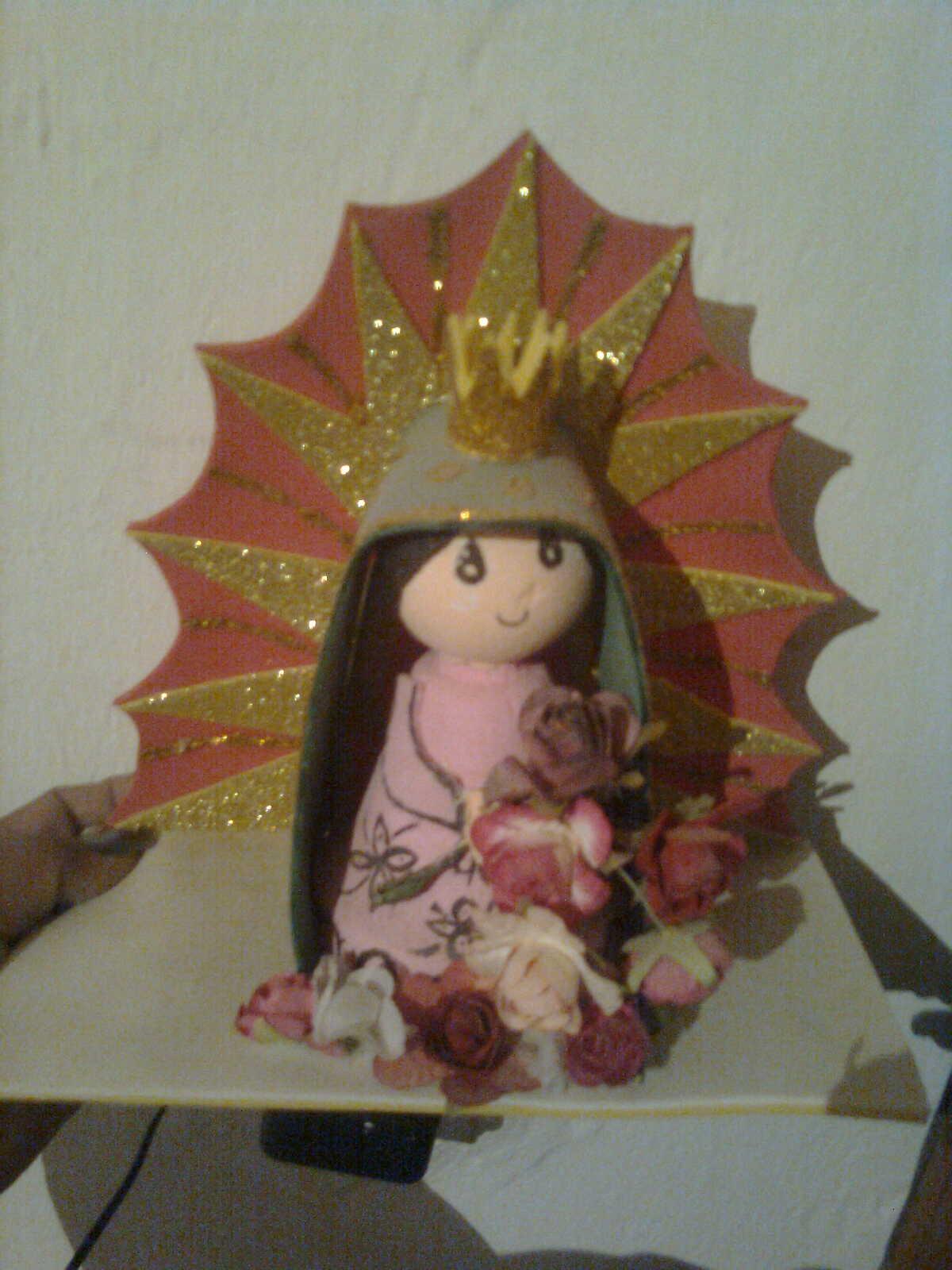 Arreglos Florales Y Foami Virgen De Foami