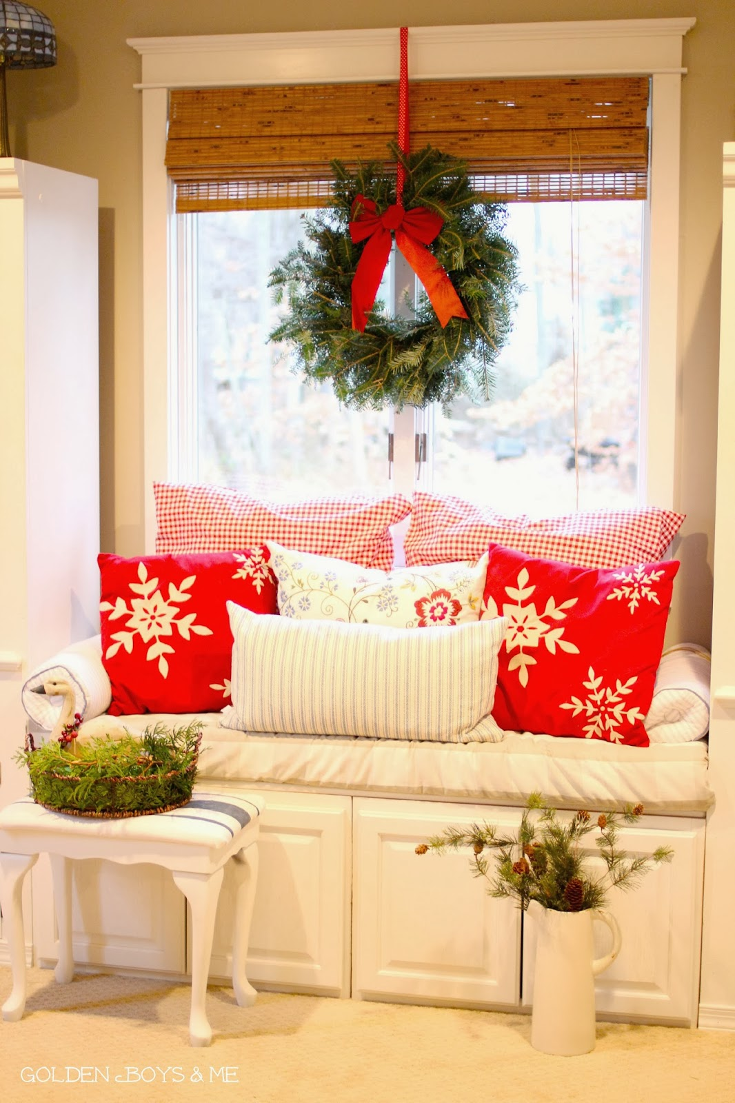 Master Bedroom Decorating Ideas On A Budget: Golden Boys And Me: Christmas Master Bedroom