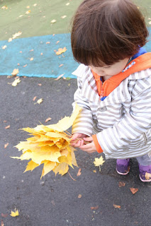 Playworking Auntie: A Bouquet of Leaves