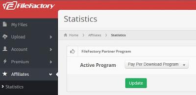 Ganar dinero FileFactory