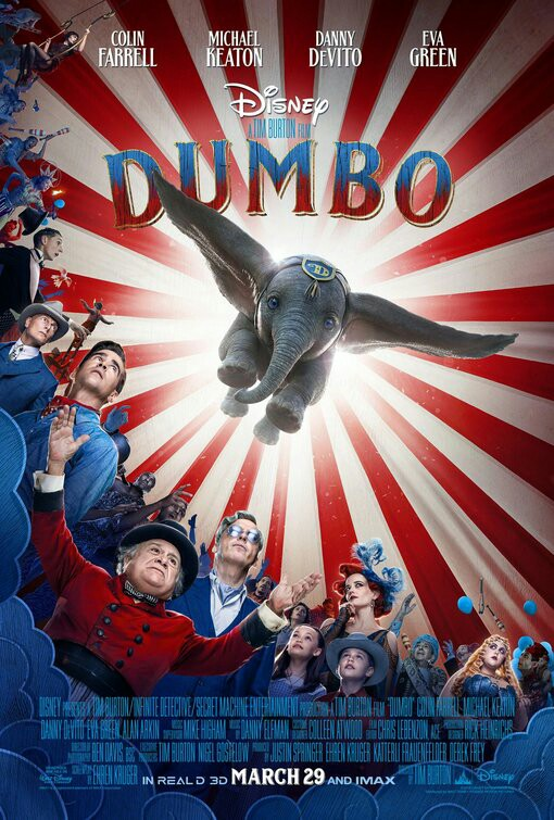 Disney's Dumbo Theatrical Poster 2019