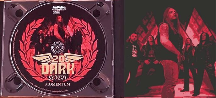 TwentyDarkSeven - Momentum [Ltd. Edition Digipak +3] (2017) disc
