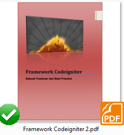 Framework Codeigniter 2