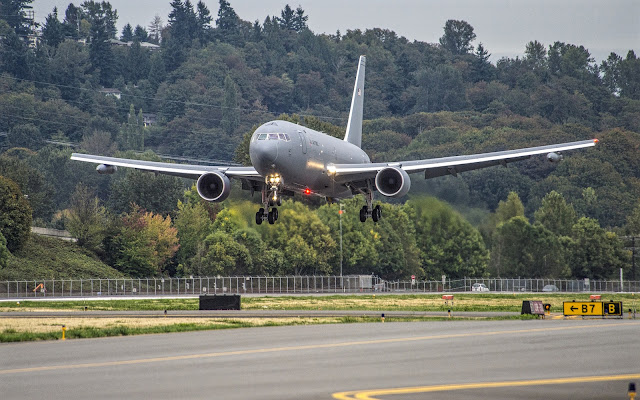 Boeing KC-46A Maiden Flight Successfully