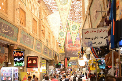 Bazar Tajrish en Teheran