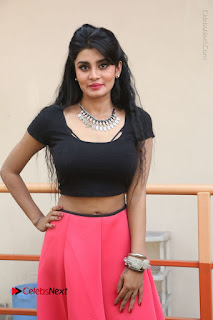 Telugu Actress Harini Stills at Dhyavudaa Movie Teaser Launch  0124.JPG