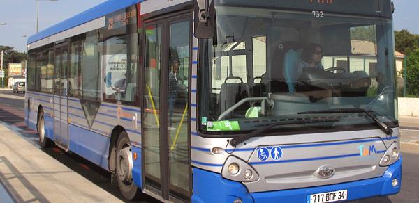 Transport public à Pérols